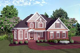 Traditional House Plan