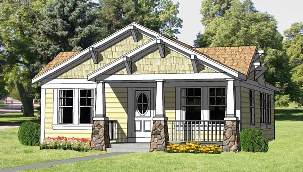 House Plan 94371 At FamilyHomePlans.com