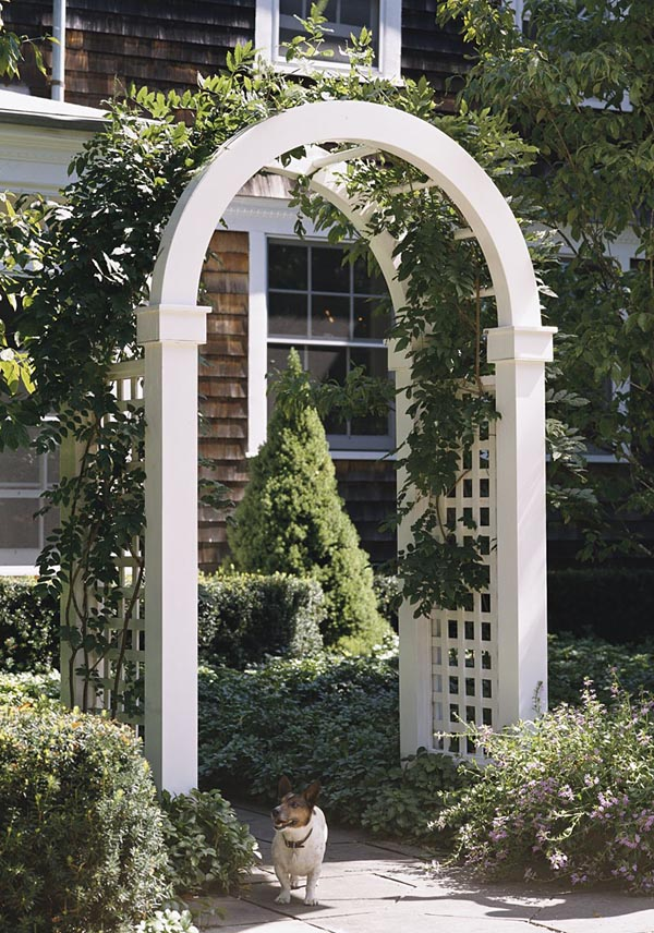 Project Plan 503518 Arch Topped Arbor