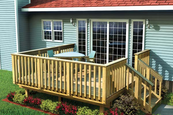 Project Plan 90002 Easy Raised Deck