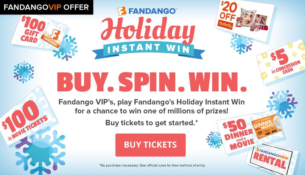 Fandango Instant Win