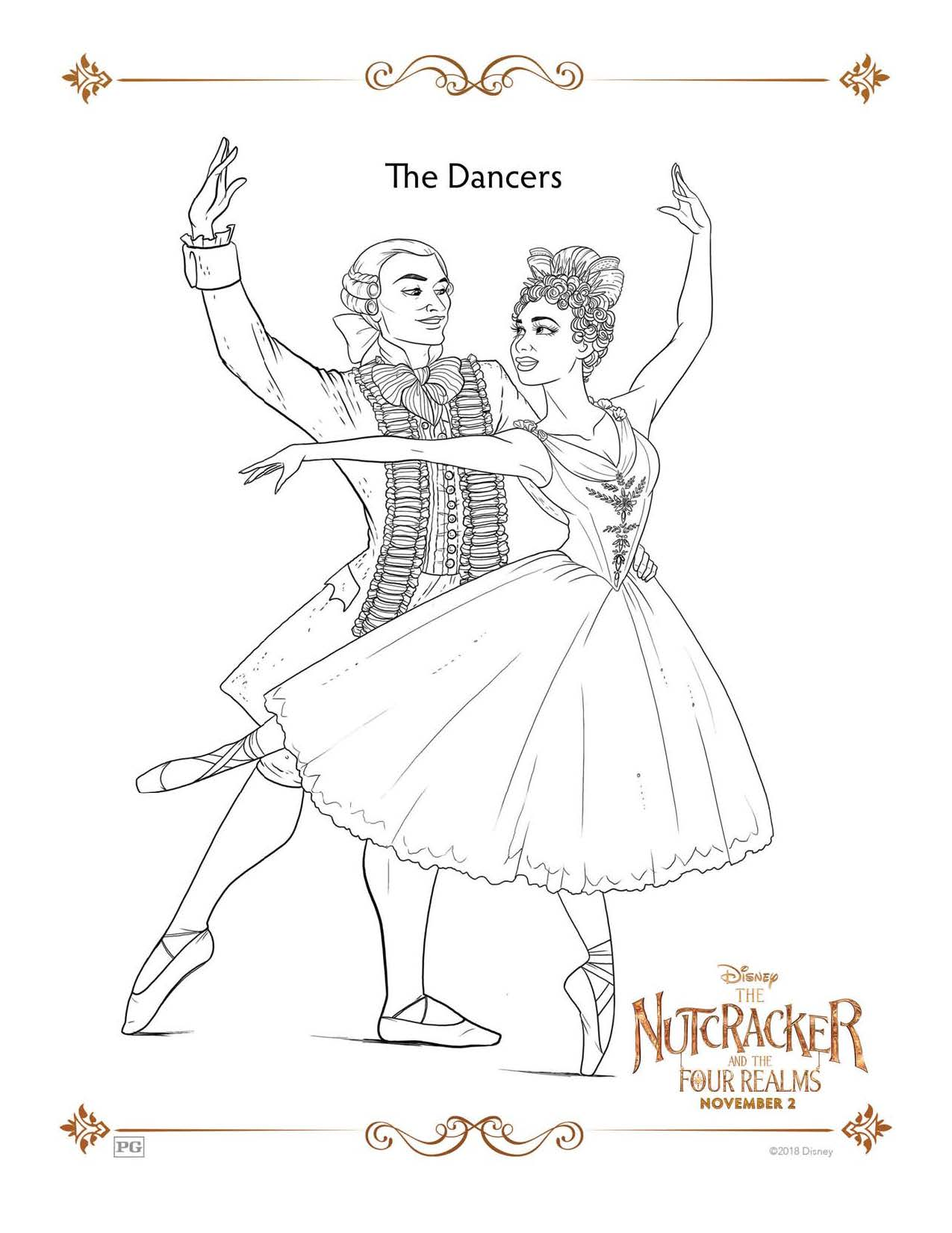 Check Out The Nutcracker And The Four Realms Activity