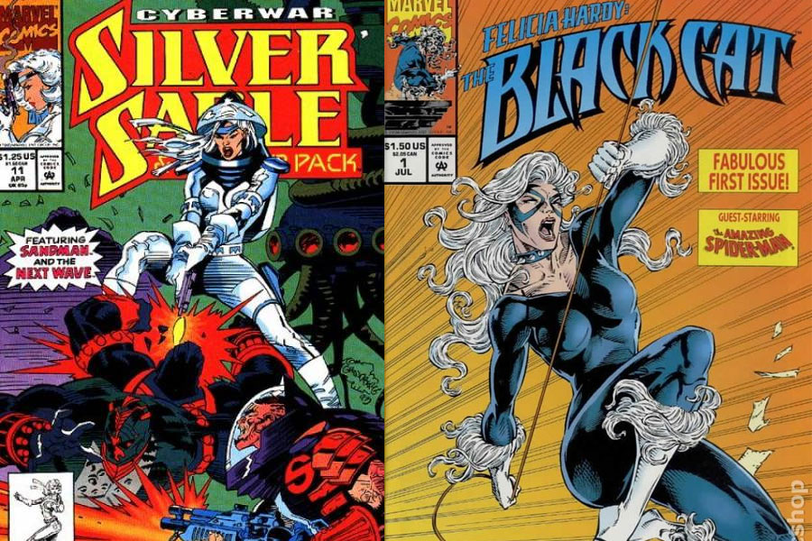 Image result for silver sable black cat comics