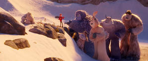 Watch Exclusive 'Smallfoot' Clip: Down the Mountain