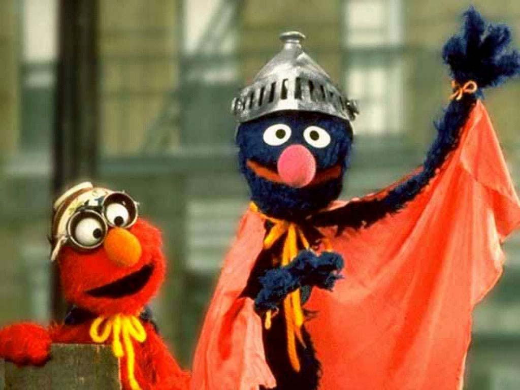 Elmo & Super Grover - sesame-street Photo