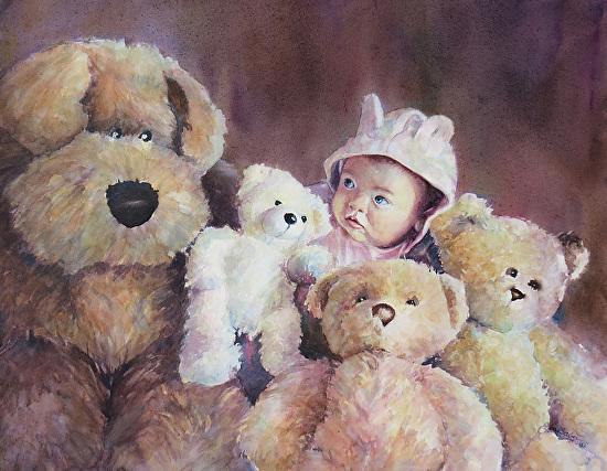 PrincessLaylathumb - Watercolor