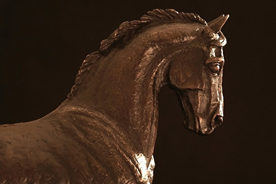 "Cassano by Ruth Green Bronze ~ 14"" x 13 3/4"""