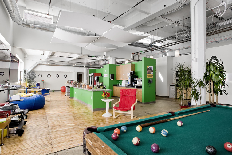 Google Pittsburgh Game Room/Kitchen