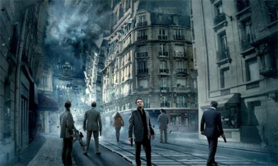 "Scene from Christopher Nolan's ""Inception"", created using Autodesk technology (by FAST COMPANY)"