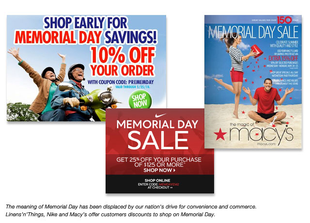 Reinventing Memorial Day Beyond The Mattress Blowout Sale