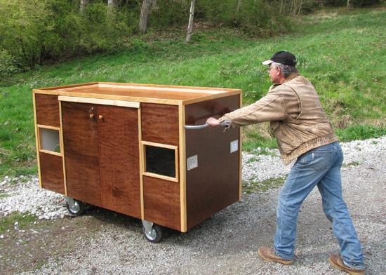 mobile homeless shelter