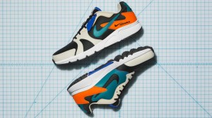 The puzzle-like pattern on these Nike sneakers isn't just a cool design-it's a waste-reduction trick
