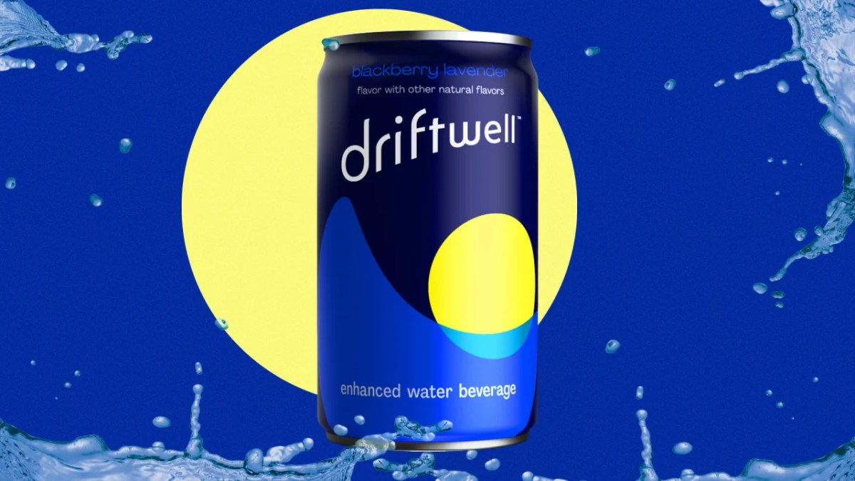 Pepsi parent company launches Driftwell relaxation beverage