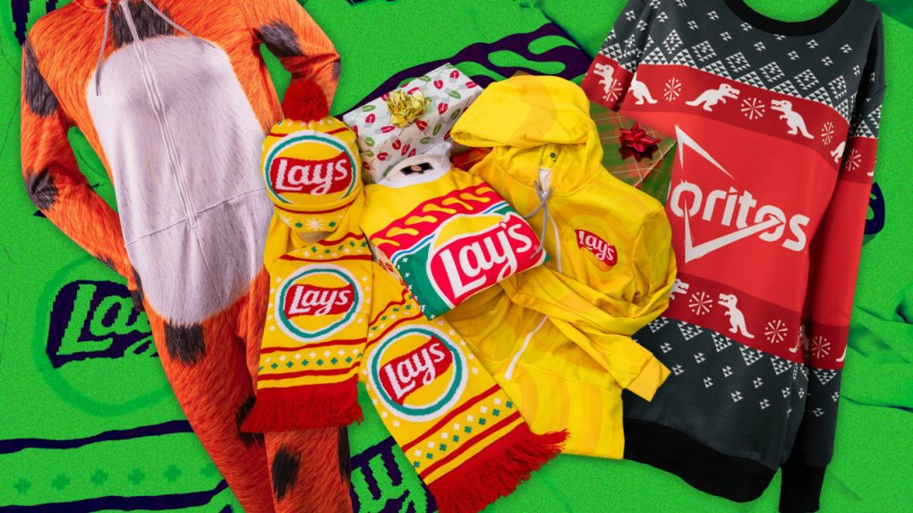 p 1 ugly cheetos sweaters and other brand ip is the reason for the season