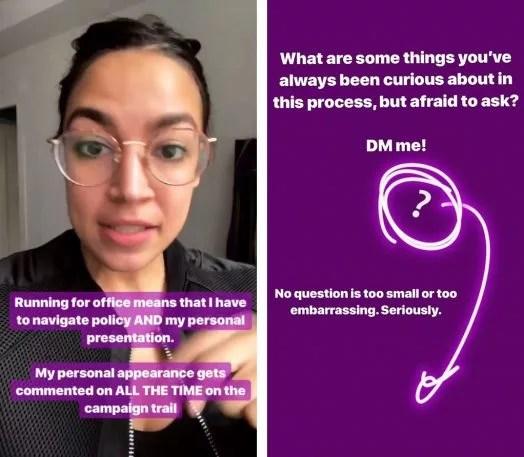 i-2-how-alexandria-ocasio-cortez-uses-instagram-to-engage-her-base-524x457 Trump has Twitter. Alexandria Ocasio-Cortez is winning Instagram Technology