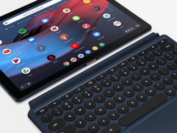 i-Pixel-Slate-Keyboard-609x457 Google's melding of Chromebooks and Android is still a mess Technology