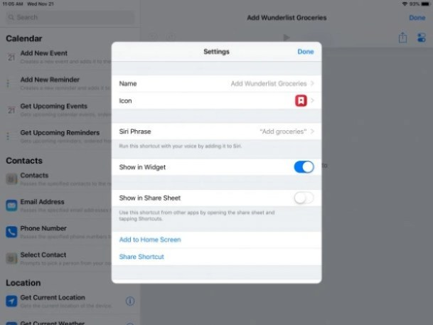 i-CreatingWunderlist2-609x457 You should be using iOS's powerful new Shortcuts, and here's how Technology