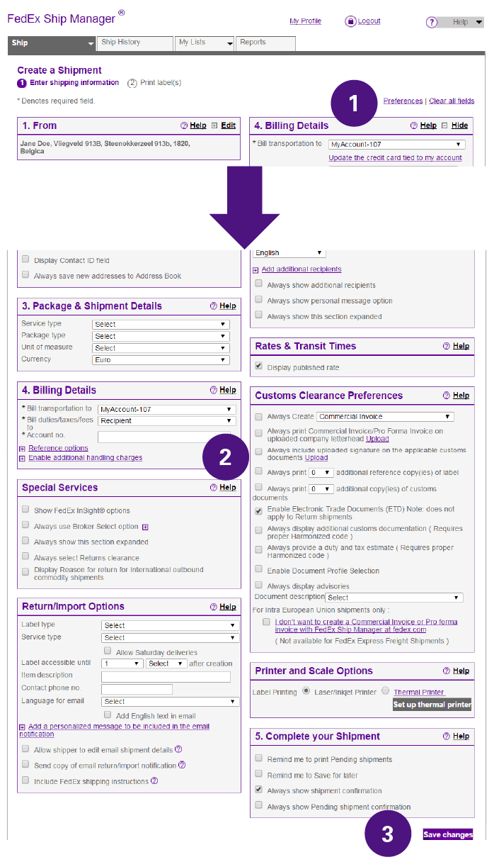 How To Complete International Shipping Documentation FedEx Spain