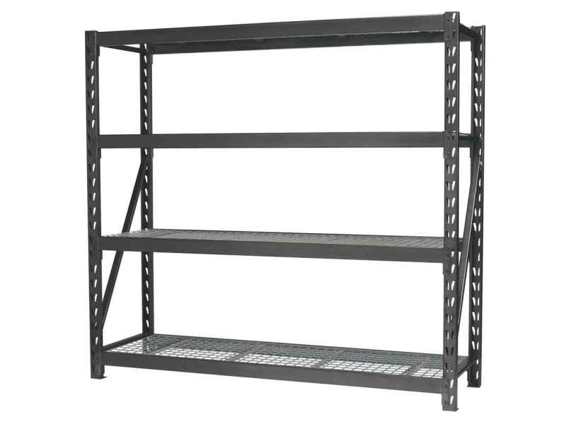 Sealey AP6572 Heavy Duty Racking Unit with 4 Mesh Shelves 800kg     Sealey AP6572 Heavy Duty Racking Unit with 4 Mesh Shelves 800kg Capacity  Per Level