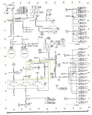Pennock's Fiero Forum  Wire Diagram for 87 rear (by