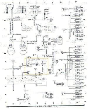 Pennock's Fiero Forum  tail light harness diagram (by