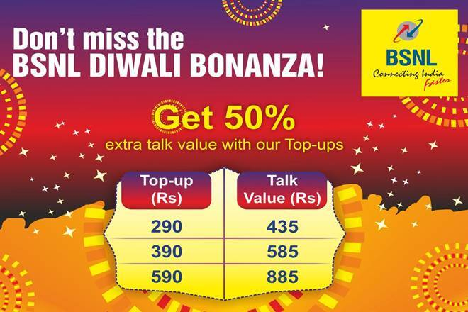 BSNL Diwali 2017 offer, bsnl, bsnl offer, bsnl offers, bsnl plans, bsnl discounts, bsnl data offer, bsnl prepaid plan, bsnl plans, bsnl internet plans, bsnl deals, bsnl discounts, bsnl takes on jio, jio, reliance jio, airtel, jio offers, jio its Diwali Dhan Dhana Dhan offer, latest news