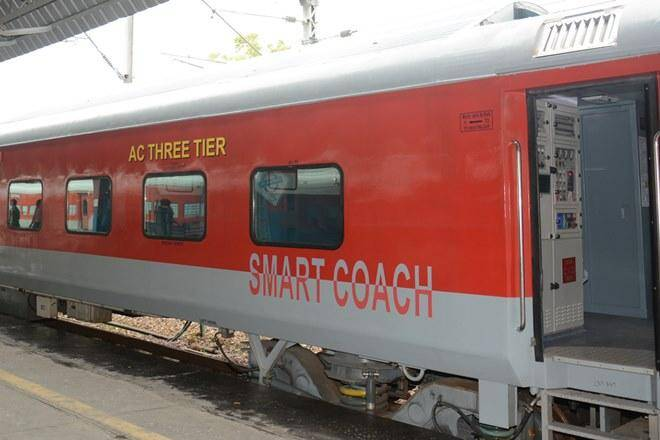 Indian Railways has got its first SMART coach