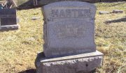 Headstone of John Luther Harter