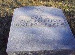 Headstone of Mary Ann Steel Baker