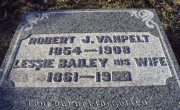 Headstone of Robert James Vanpelt