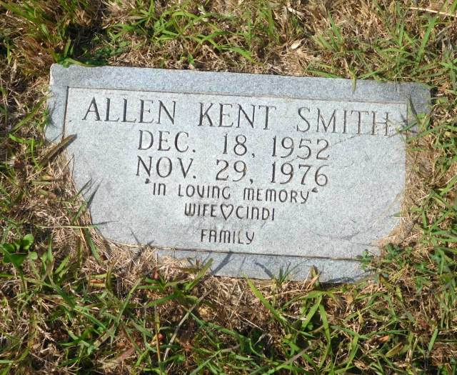 Allen Kent Smith (1952-1976) - Find A Grave Memorial