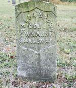 Headstone of Ralph E. Brown