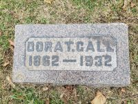 Headstone of Dora Talbott Gall