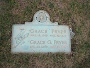 grace fryer grave
