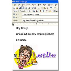 Icon Email Signature For Her