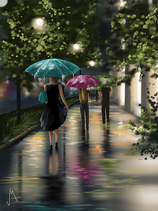 Drizzle Painting