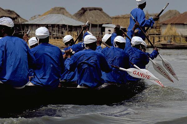 Being in Benin - Lake Ganvie. © Michel - Photos.TravelNotes.org