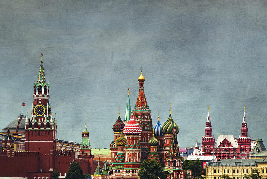 Red Square Moscow Photograph By Elena Nosyreva