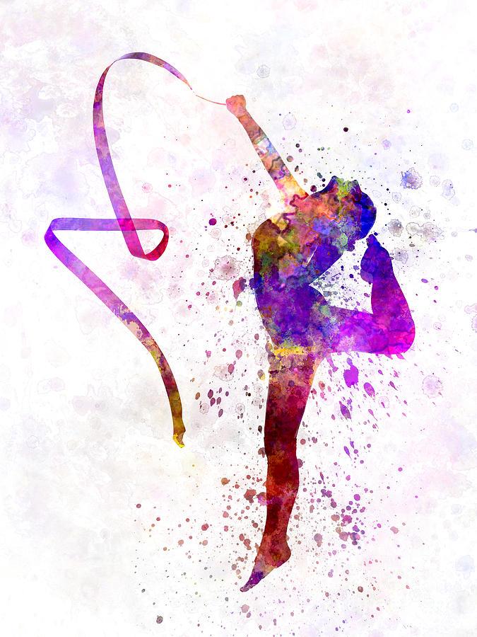 Gymnastics Art Drawings