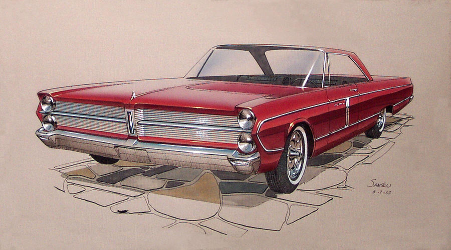 1958 Plymouth Front Fury