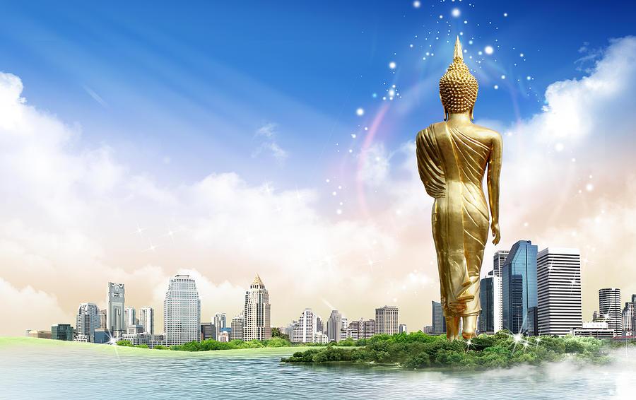 Background Travel Concept Digital Art By Potowizard Thailand