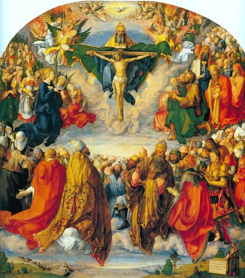 Image result for All Saints painting