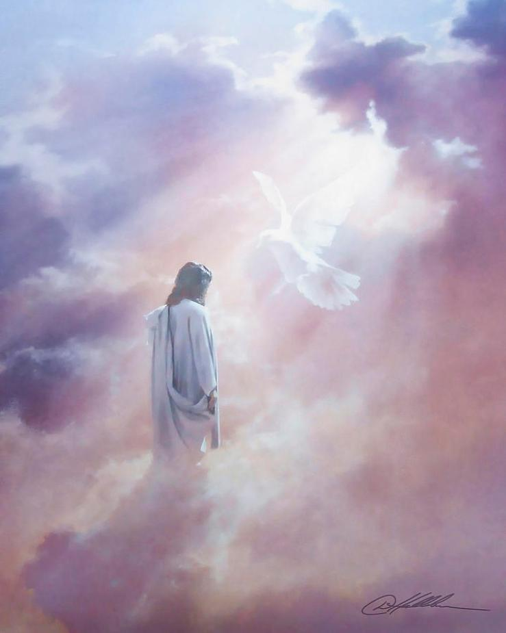 Ascension Painting by Danny Hahlbohm