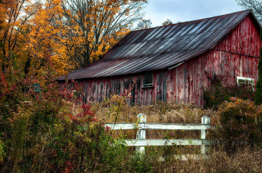 Image result for old barn autumn