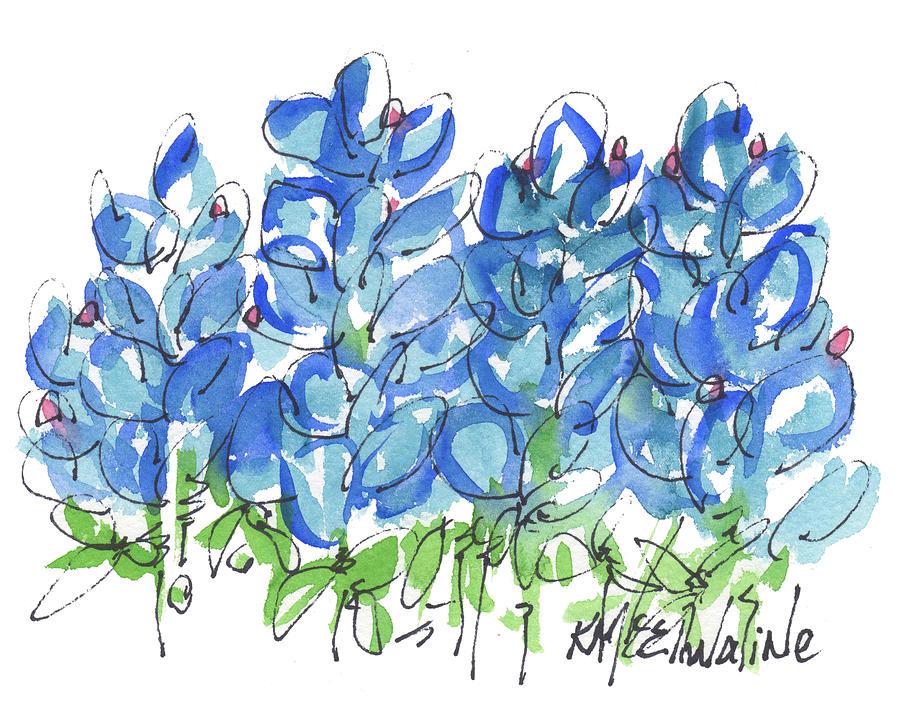 bluebonnet clip art bluebonnets flowers picture