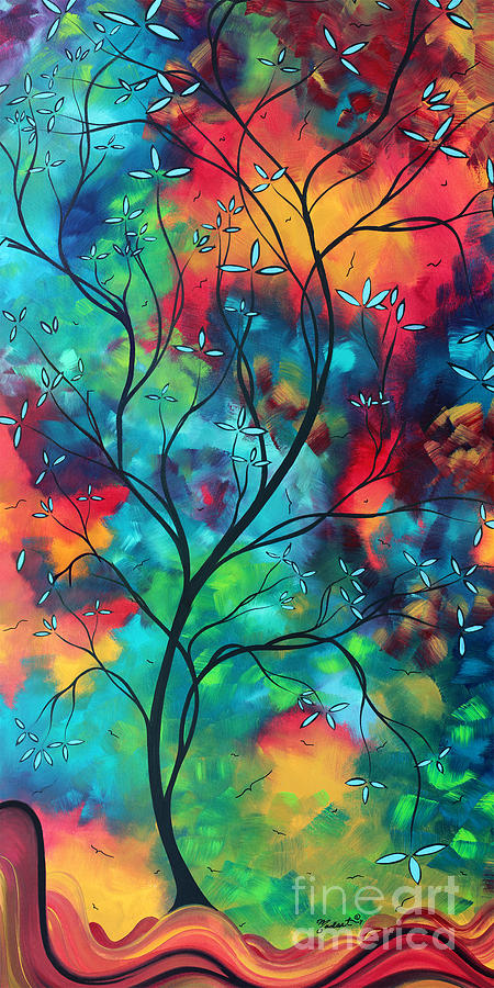 Image Result For Acrylic Painting Of Apple Tree