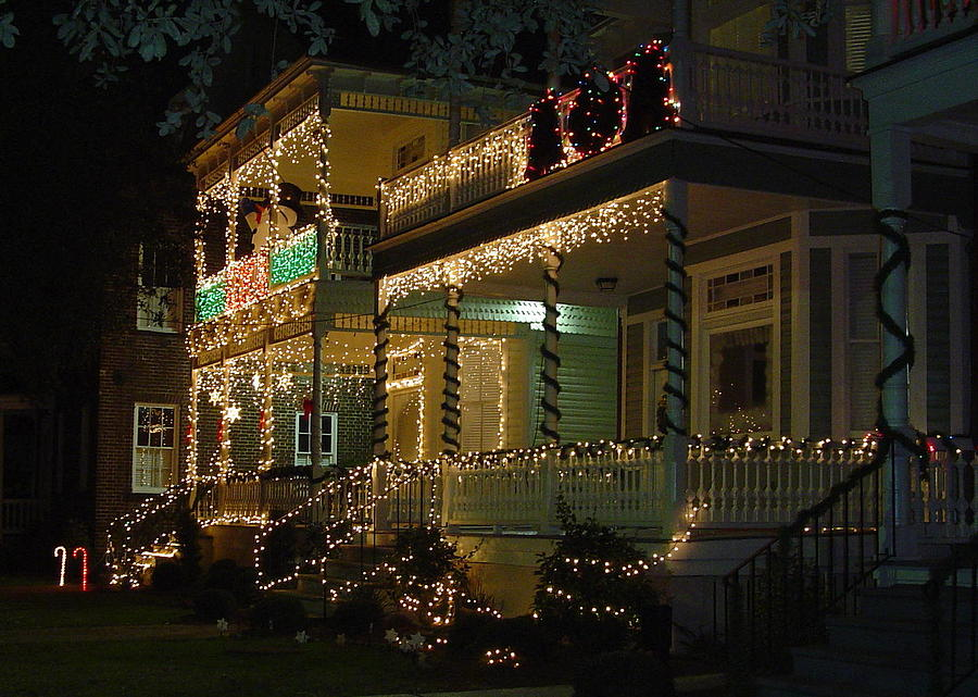 Christmas In Charleston Photograph By Richard Marcus