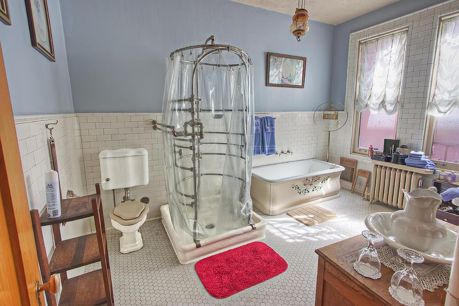 Copper King Victorian Bathroom