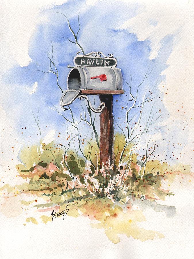 Havliks Mailbox Painting By Sam Sidders