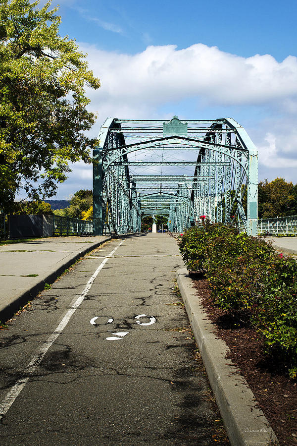 Historic South Washington St Bridge Binghamton NY